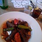 Beef kebap (very large portion !)