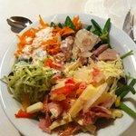 insalate varie dal buffet
