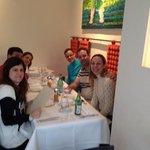 Italiano, em Berlim, com os amigos.