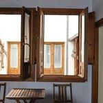 Windows open in bedroom 1