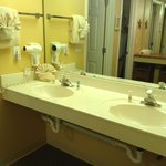 bathroom double sinks, room 502