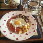 Breakfast served Emma Bridgewater Style