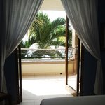 View from Room 204 Master Bedroom