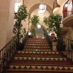 Stunning hall stairs, my back didnt agree haha