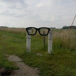 entrance to Buddy Holly crash site