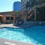 Pool is clean