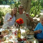 Lovely Picnic at Buttonwood Winery