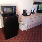 Fridge, Microwave & TV