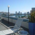 Condado view from Miramar Hotel Deck