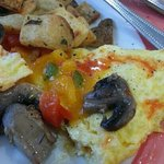 "Flat, Dense, and Tasteless ""empty"" Omelet"