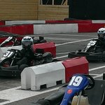 GO  KARTING AT  BERNTWOOD