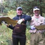 pair of fish few minutes apart