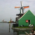 The spice mill at the Zaanse Schans