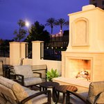 Enjoy a San Diego sunset in our outdoor living space.