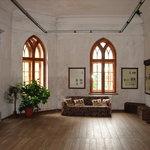 Room inside the castle
