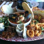 The sharing seafood platter!