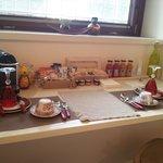 l area colazione della nostra stanza