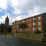 Kirn Church is just 5 minutes walk (W) away