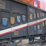 International train car