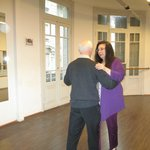 Gerry made tango easy, fun and graceful