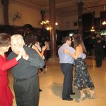 Confiteria Ideal Milonga - gorgeous dancers of all ages, sizes, doing variations on what we lear