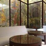 reception area as well as breakfast