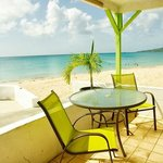 Compass Rose Patio/Beach View