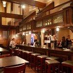 The bar at Trinity.