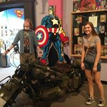 The actual Captain America movie motorcycle