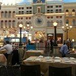 vista su st marco square at Venetian in Las Vegas