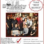 "Voted ""Best Buffet"" by the readers of the Belton Journal in 2013! Thank you!"
