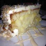 Pineapple, coconut cake....lush