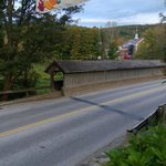 Fall Craft Fair and Covered Bridge at the Stowe Inn in Stowe, VT