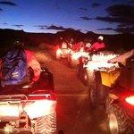 Night time ATV tour.