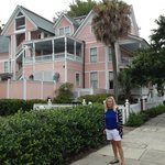 Karrie standing in front of The Beaufort Inn