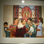 McDonald's art.