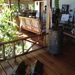 veranda pranzo e relax