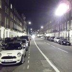 calle Ebury, a metros de la entrada al hotel