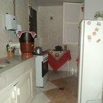 Cozinha para uso de hóspedes