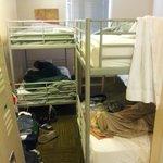 Dorm style room