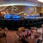 Newly remodeled bar at Karma Sushi.