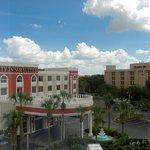 View of hotel next door from our bedroom window