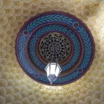 tile ceiling in monument