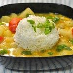 vagetable with rice