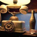Teléfono lampara