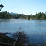 What a pretty lake!