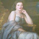 Portrait of Marie Corinne Ramsay Scicluna, by Maltese artist Edward Caruana Dingli.