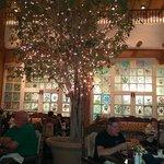 Inside La Plazuela Restaurant