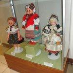 Moravian kroje doll