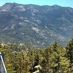 Mt.  San Jacinto from the Black Mountain Fire Tower. You can actually climb up into the tower!